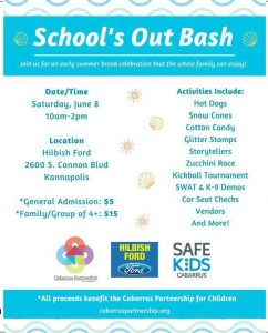 School's Out Bash @ Hilbish Ford
